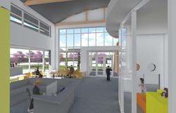 3D view 5 - Inside Lobby