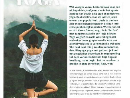 Raja Yoga, artikel in tijdschrift Bloom