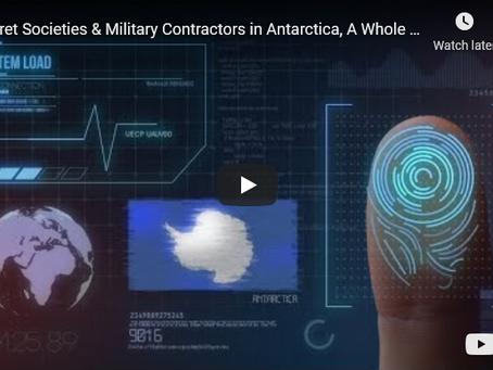 Secret Societies & Military Contractors in Antarctica, A Whole New Era, South Pole, Eric Hecker