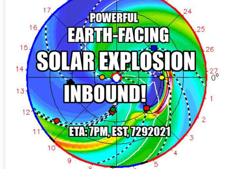 * IMPORTANT EARTH ALLIANCE SPACE WEATHER BRIEFING 7/28/2021 * Michael Love