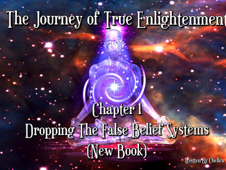 The Journey of True Enlightenment ~ Chapter1 ~Dropping The False Belief Systems  (New Book)