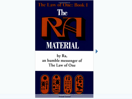 The Ra Material: An Ancient Astronaut Speaks (Law of One) +The Law of One Study Guide