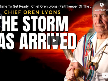 It's Time To Get Ready | Chief Oren Lyons (Faithkeeper Of The Wolf Clan)