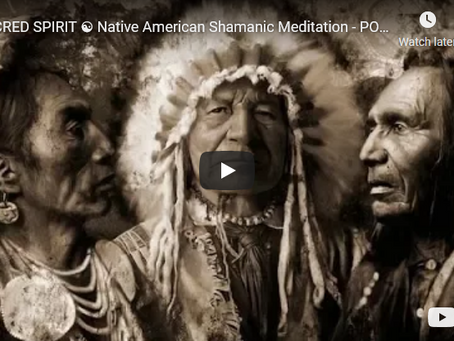 SACRED SPIRIT ☯ Native American Shamanic Meditation - POWERFUL Drums For HEALING Body, Mind and Soul