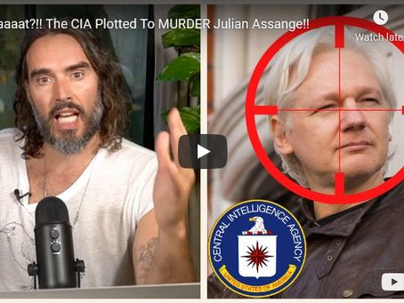 Whaaaat?!! The CIA Plotted To MURDER Julian Assange!!