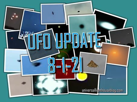 UFO UPDATE 8-1-21 ~NEW Sightings From Around the World