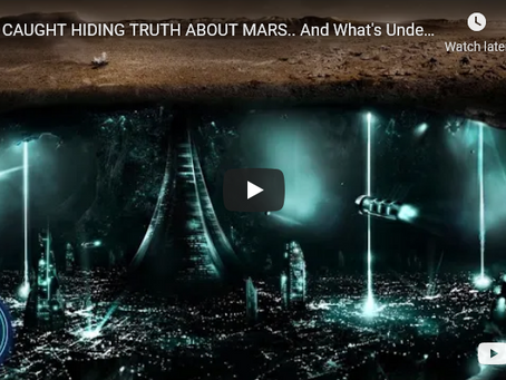 CIA CAUGHT HIDING TRUTH ABOUT MARS.. And What's Under It..