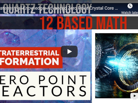 Extraterrestrial Knowledge: Advanced Zero Point Crystal Core Based Reactors - Yazhi and Dale Harder