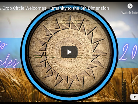 New Crop Circle Welcomes Humanity to the 5th Dimension