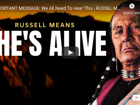 IMPORTANT MESSAGE: We All Need To Hear This | RUSSEL MEANS