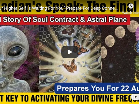 """""""Your Higher Self Is Waiting For You"""" Prepare For Deep Connection