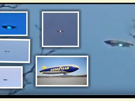 UFO OR BLIMP?? Spotted in New Jersy on 9/14 ~ Multiple Videos from Several Sources