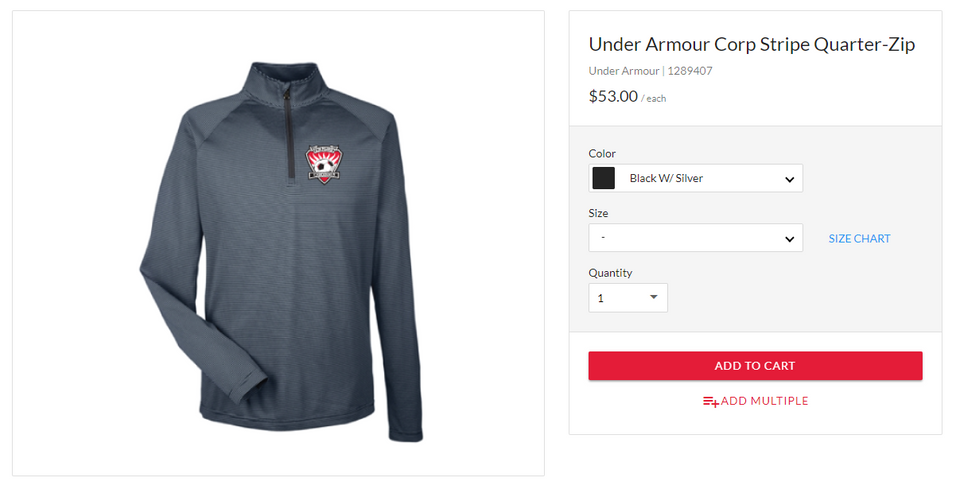 Under Armour Corp Stripe Quarter Zip.png