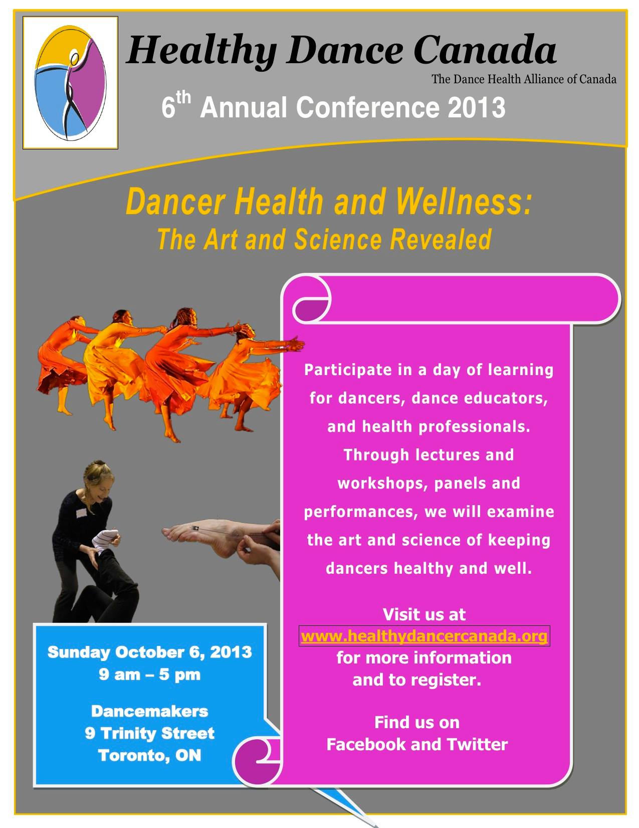 2013| Healthy Dancer Conference