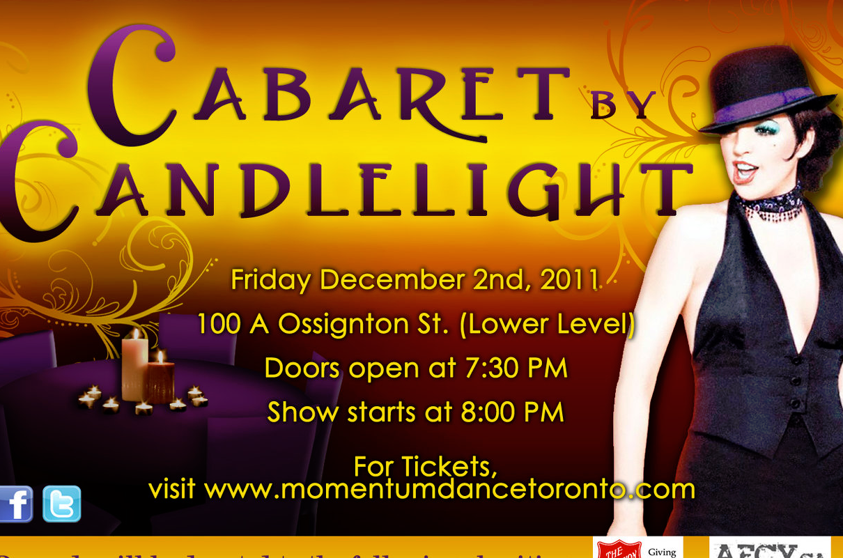 2011| Cabaret By Candlelight