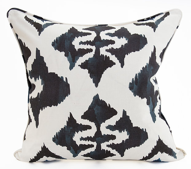 INK BLOT CUSHION COVER