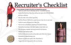 Recruiter Checklist 6x9