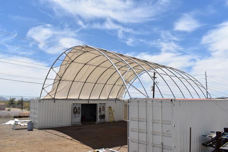 Glendal, AZ Storage Container Canopy