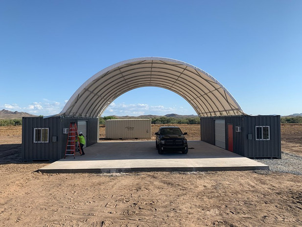 40ft Storage Container Canopy