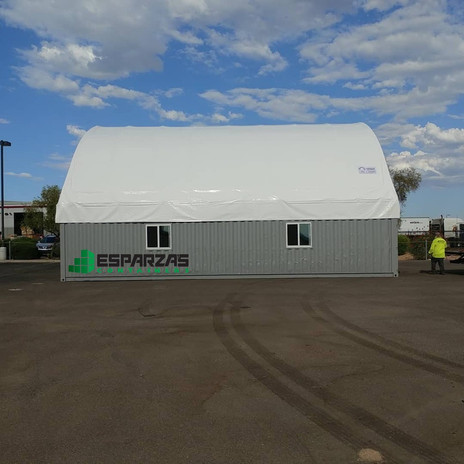 40x40x13 Shipping Container Canopies