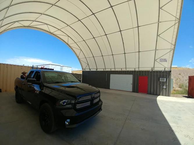 Custom Container Canopy