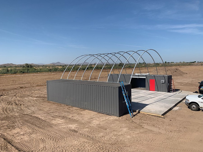 Shipping Container Canopies