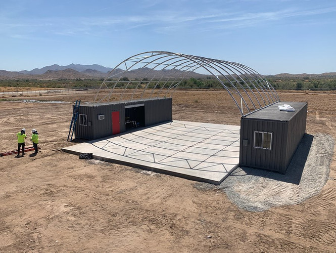 Container Canopy 40'x40'