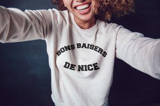 T-shirt bon baisers de Nice