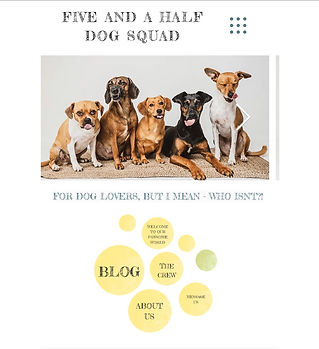 five and a half dog pack