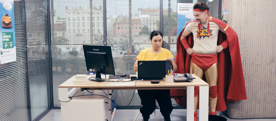 SCS au bureau