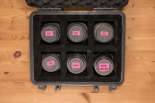 Série CANON FD CINEMOD X6 Monture EF