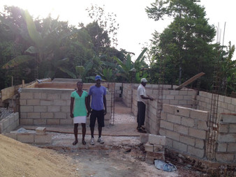 Meet the recipient of the house HOPE AND CHANGE FOR HAITI is currently building