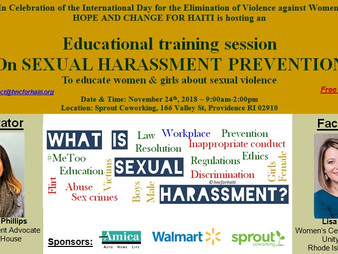 Let's Educate Women & Girls In Our Community To Empower Them