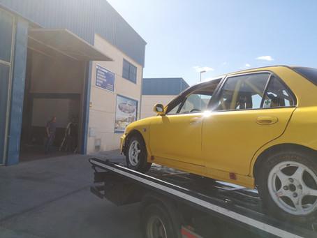 Mitsubishi saapui Costa del Solille