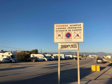 Free camping Torremolinosissa
