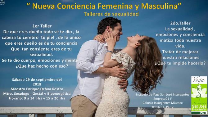 Nueva Conciencia Femenina y Masculina