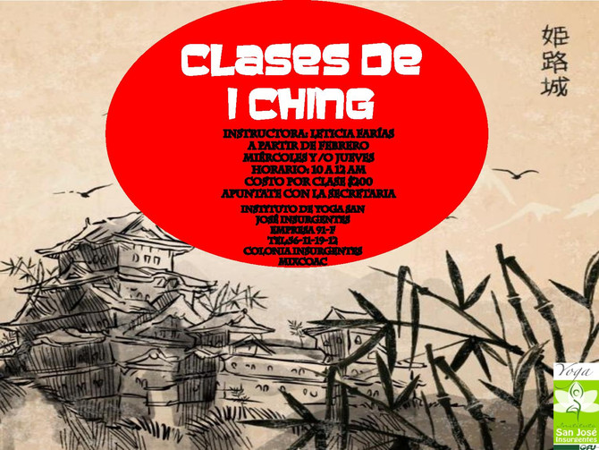 CLASES DE I CHING
