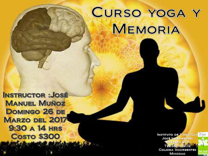 Curso Yoga y Memoria