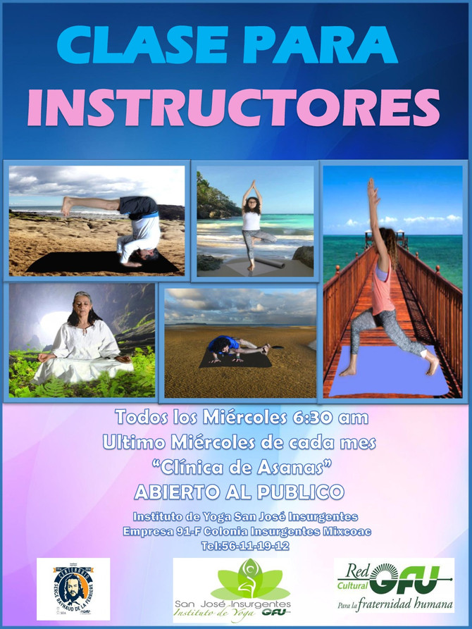 CLASE INSTRUCTORES