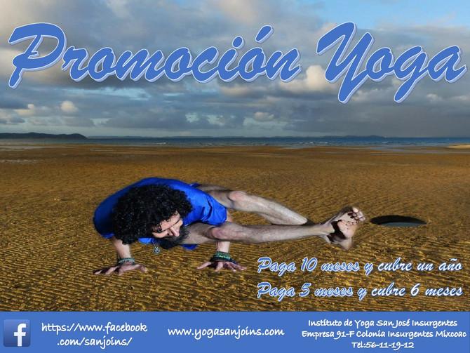 Promoción Yoga