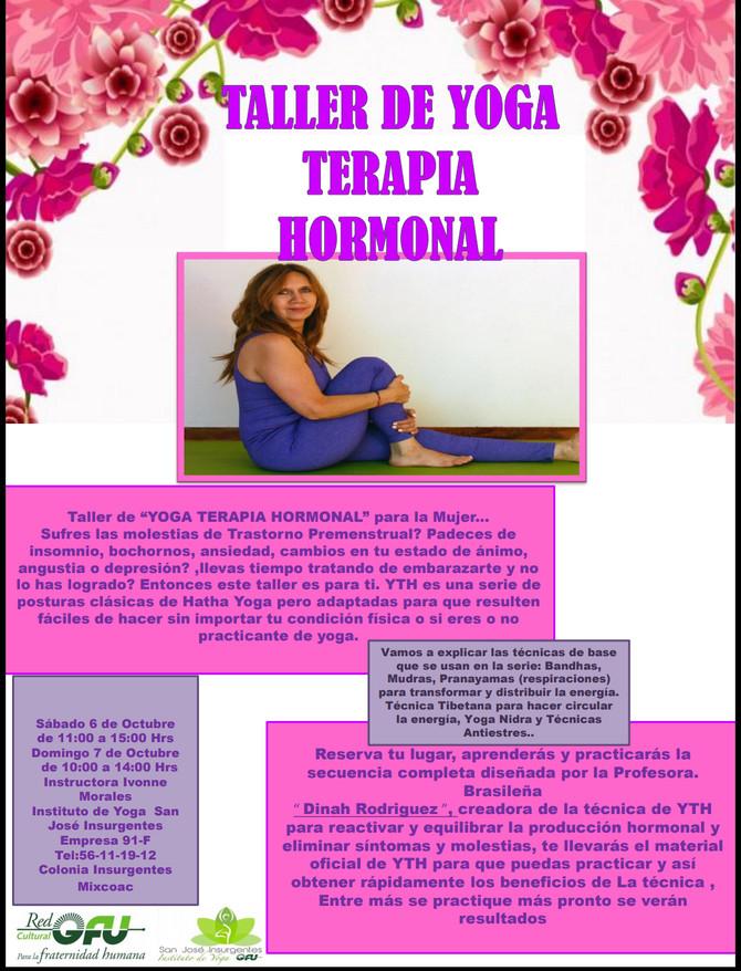 Taller de Yoga terapia hormonal