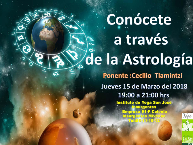 Conócete a través de la Astrología