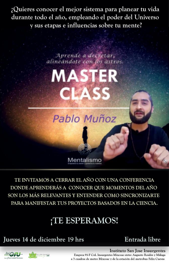 Conferencia Pablo Muñoz