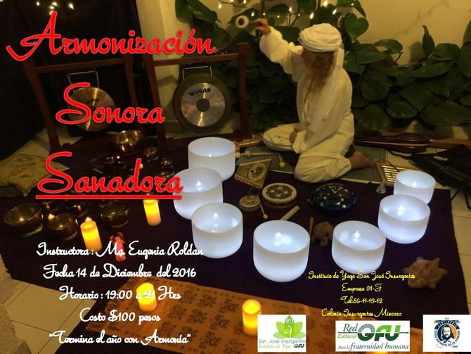 Armonización  Sonora Sanadora