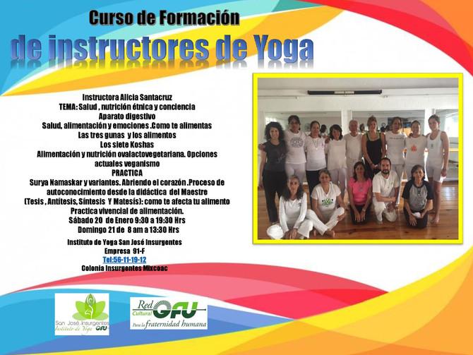 Curso de Formació de Instructores de Yoga