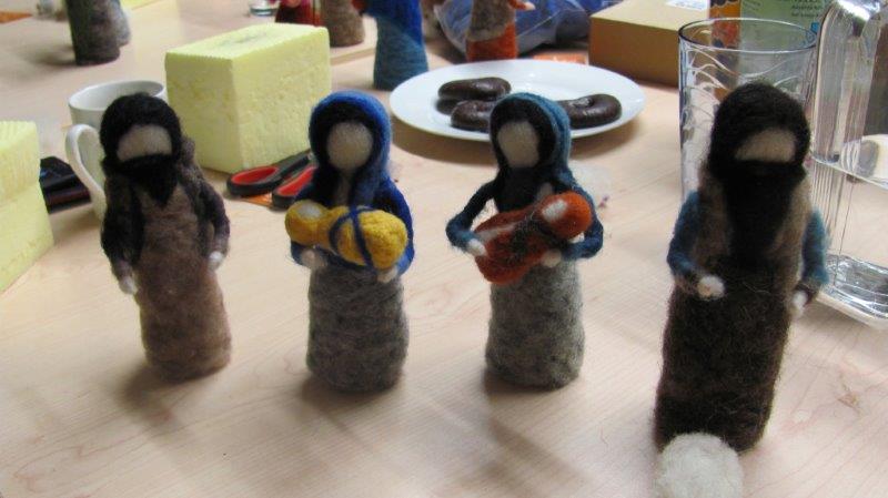 Krippenfiguren filzen (1)
