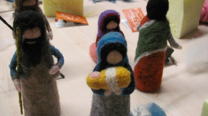 Krippenfiguren filzen (2)