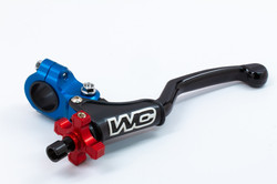 body-blue,thumb-red,lever-black