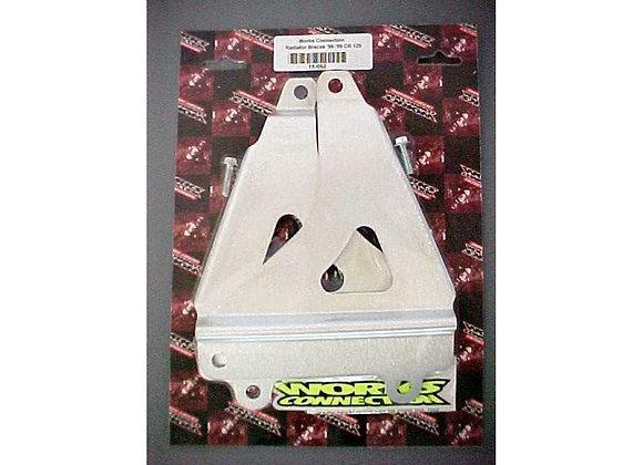 WC Radiator Braces - Honda CR125 1998-1999