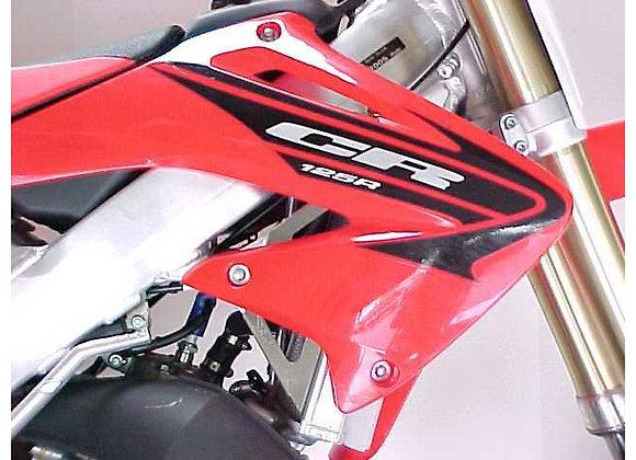 WC Radiator Braces - Honda CR125 2005-2007